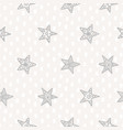 seamless pattern with stars vector image vector image
