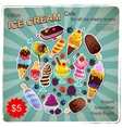 Vintage Dessert for your business vector image vector image