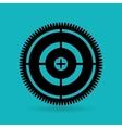 gear wheels design vector image vector image