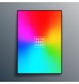 gradient background design for poster wallpaper vector image vector image