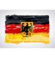 Grunge Germany national flag vector image vector image