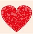 heart frame icon love symbol valentine s vector image