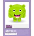 Monstrolab Cute Madness picture of vector image vector image