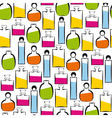 Perfumery pattern vector image