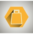 shopping icon design vector image vector image