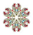 Antique ottoman turkish pattern design ten vector image