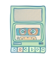 Audio Tech Isolated vector image vector image