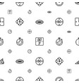 hour icons pattern seamless white background vector image vector image