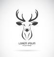 Image of a deer head design vector image vector image