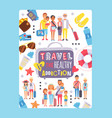 inspirational travel poster vector image