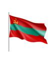 transnistria national flag vector image