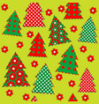 wrapping paper for your christmas seamless vector image