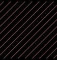 black background in lines diagonal texture vector image
