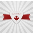 Canada day festive red badge
