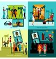 Cinema People Set vector image vector image
