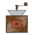coffee grinder machine icon vector image