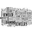 Is your jeweler a crook text background word