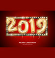 new year count symbol balloon on black vector image