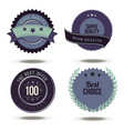 badge best choice label stamp sticker price tag vector image vector image