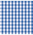 blue and white plaids seamless pattern checkered vector image vector image