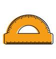 conveyor rule isolated icon vector image