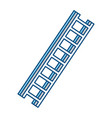 ladder tool isolated vector image vector image