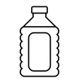 plastic soap bottle icon outline style vector image vector image