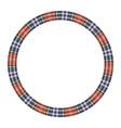 round frame vintage pattern design template vector image vector image
