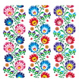 Seamless traditional folk polish pattern vector image vector image