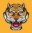 tiger head modification vector image vector image
