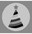Birthday hat icon vector image