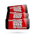 black friday smartphone vector image vector image