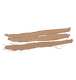 burdock roots isolated vector image vector image