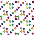 Colored dots beautiful abstract seamless pattern vector image vector image