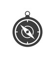 handheld compass icon vector image vector image