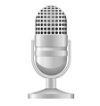 microphone 04 vector image vector image