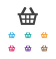 of trade symbol on purse icon vector image