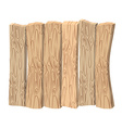 Wooden wall Old wooden boards Shield made of wood vector image vector image