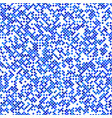 blue seamless dot pattern background vector image vector image