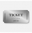 entry ticket vector image