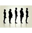 Male Body Type vector image