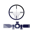 scope icon vector image