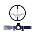 scope icon vector image