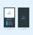 vertical double-sided black and blue modern vector image vector image