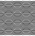 abstract seamless op art pattern vector image vector image