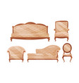 antique baroque furniture collection vintage sofa
