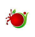 health fruit juice vector image vector image