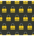 Seamless endless pattern with safety padlock vector image vector image
