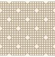 Seamless geometric polka dot pattern vector image vector image