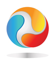 abstract global logo